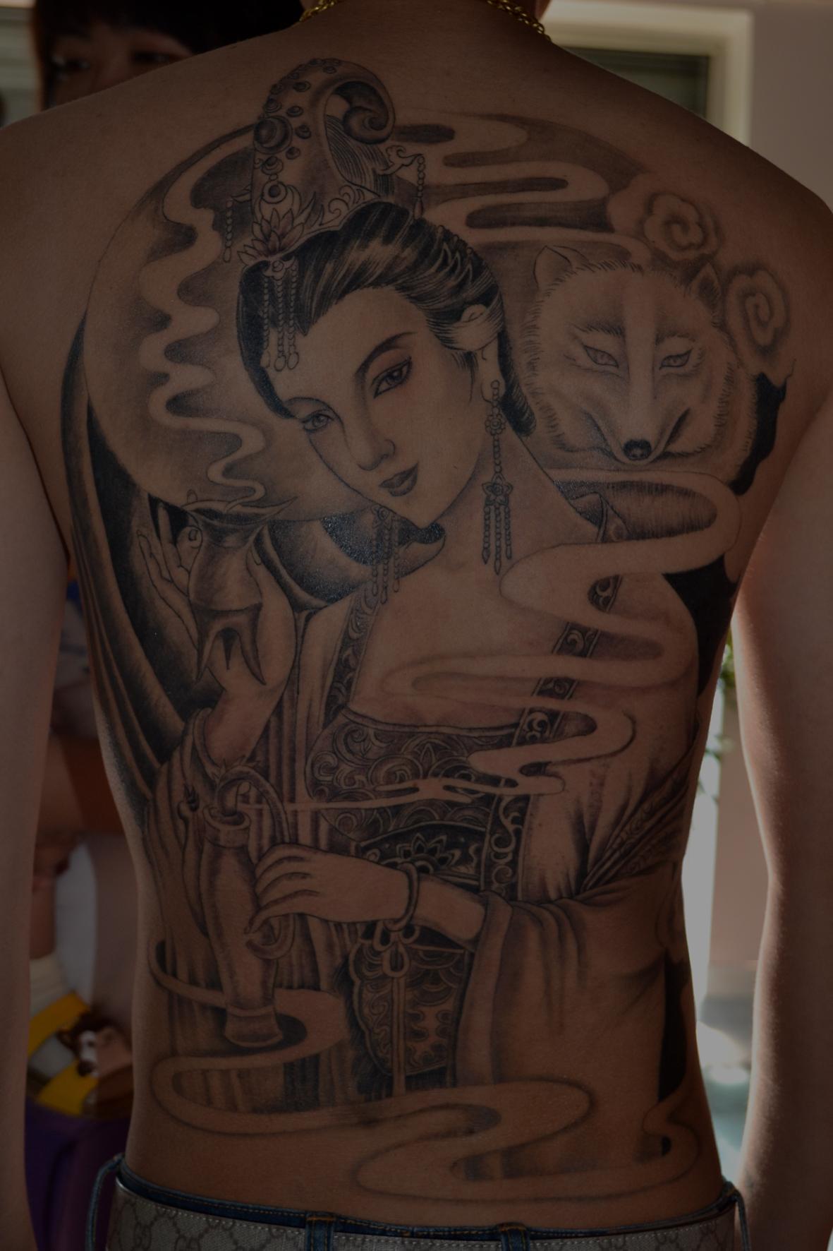 宝坻刺水堂纹身部分作品望喜欢纹身的朋友多多支持