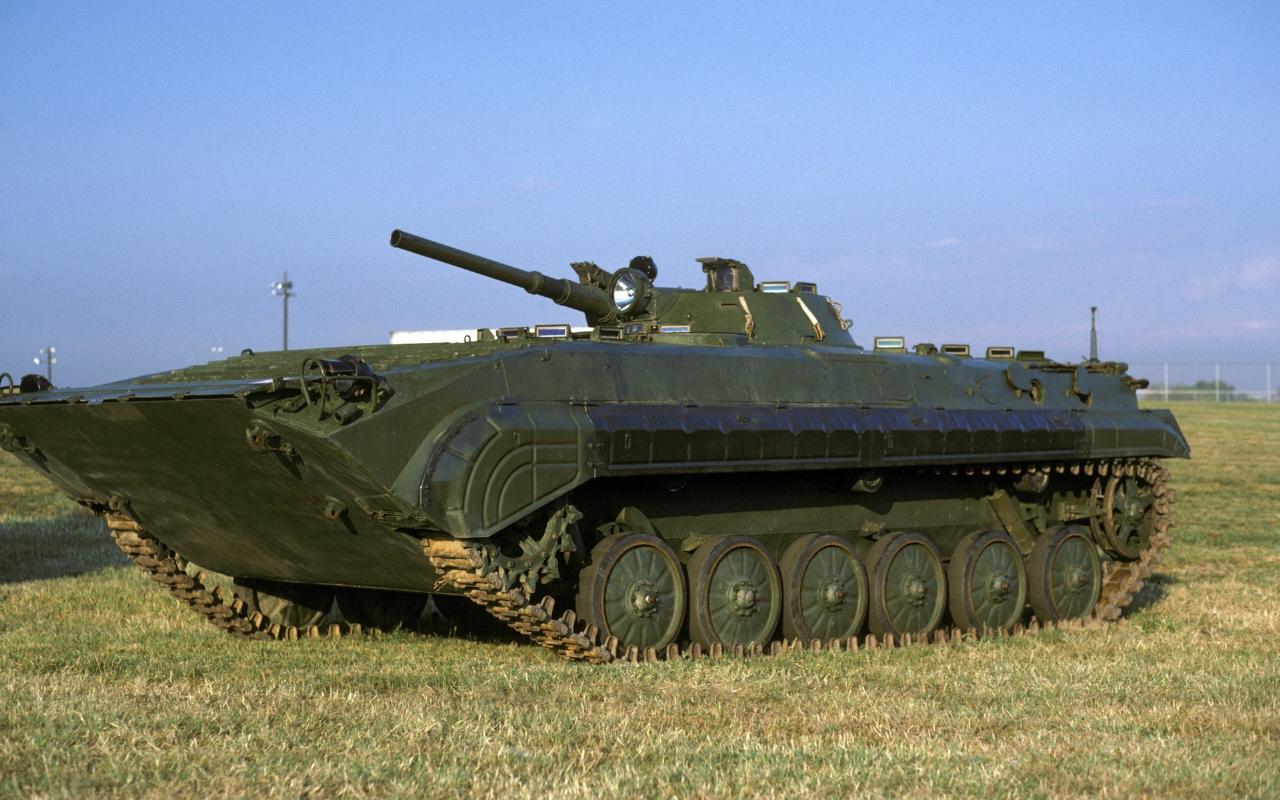 bmp-1步兵战车_