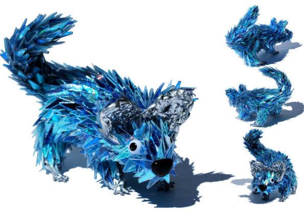 动物和昆虫雕刻艺术家Sean Avery 使用废旧的光盘制作了一系列可爱的小动物雕塑,平凡无奇的光盘被开发出了更有意义的新用途。喜欢它的色彩,喜欢它的造型,当然还喜欢艺术家所宣扬的环保理念!哈哈,要是家里有一个这样的雕塑作为陈设,肯定倍儿有面儿呢