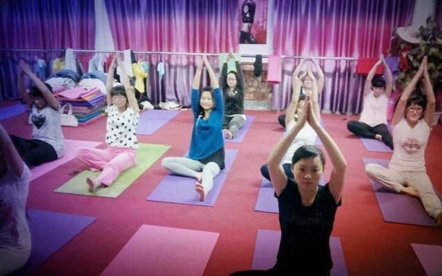 love猫瑜伽舞蹈工作室宣传演出