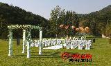 迁西甜蜜新娘首次室外草坪婚礼