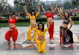 健身印度风情舞鉴赏(组图)