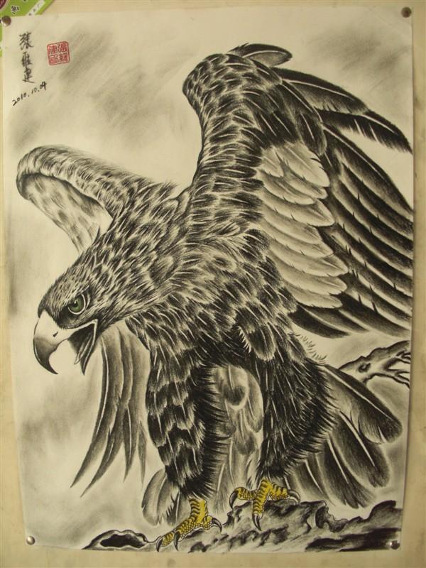 艺健堂纹身绘画作品