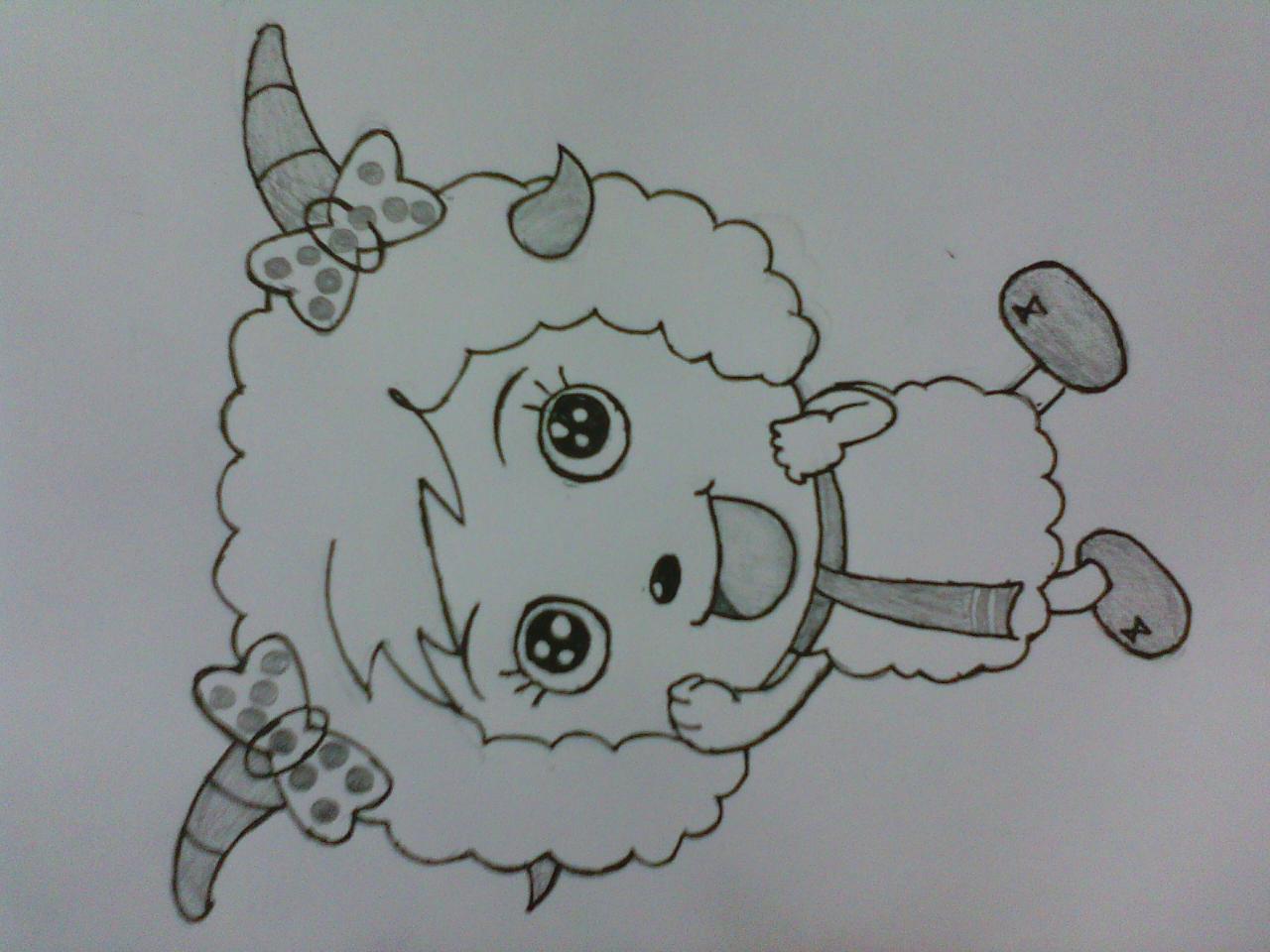 儿童画 简笔画 手绘 线稿 1280_960