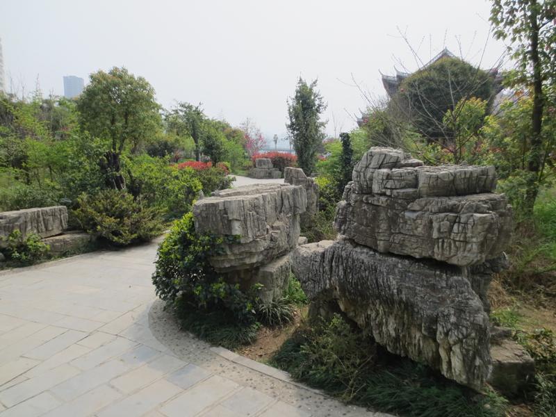 梵天净土 铜仁三江公园春季风景如梦如幻