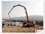 [原��]秦安:葫�J河�I河路段工地建�O