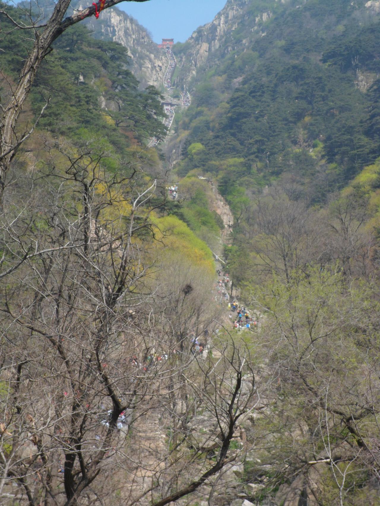 泰山风景区全景壁纸