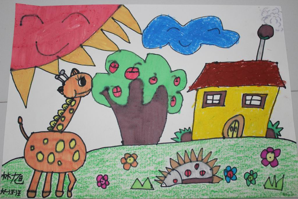 """美丽上杭""""六一""""儿童节绘画比赛图片"""