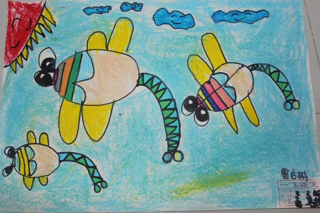 六年级的六一儿童节绘画图片