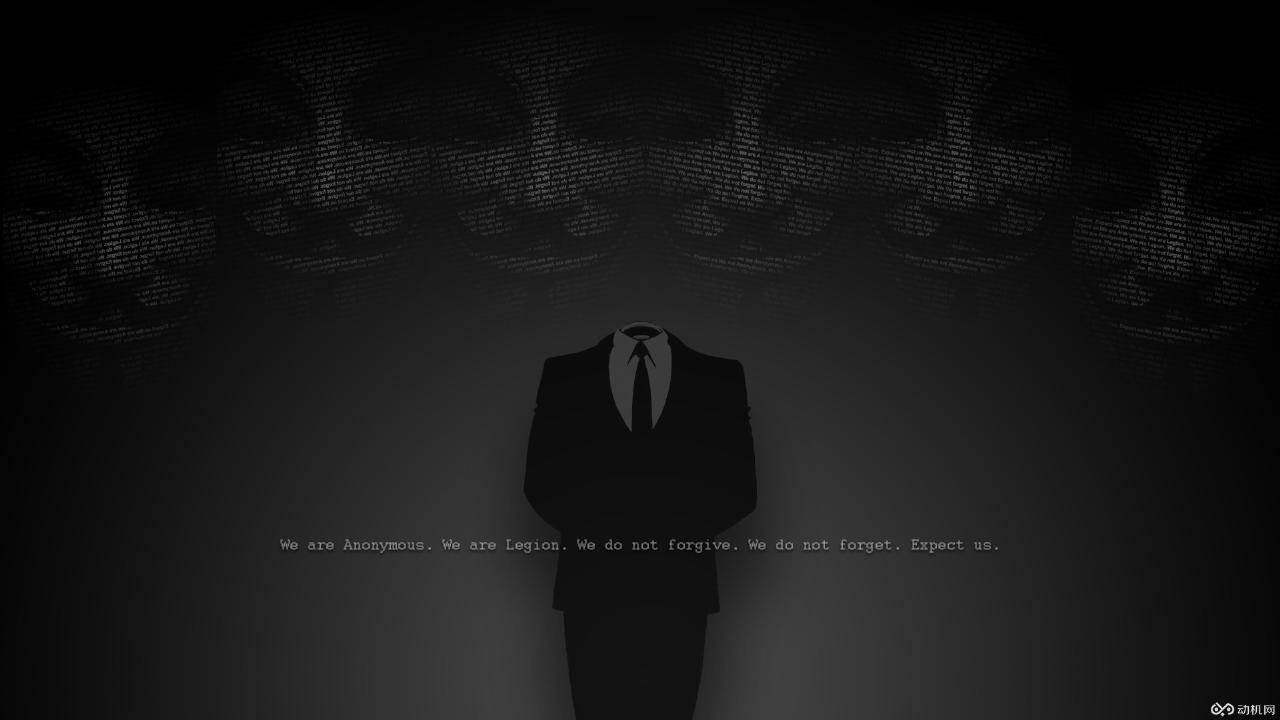 匿名者黑客高清壁纸
