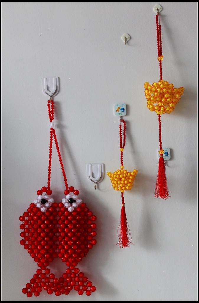 手工珠子编织法图解