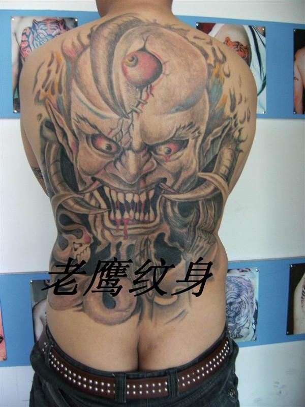 白城老鹰纹身
