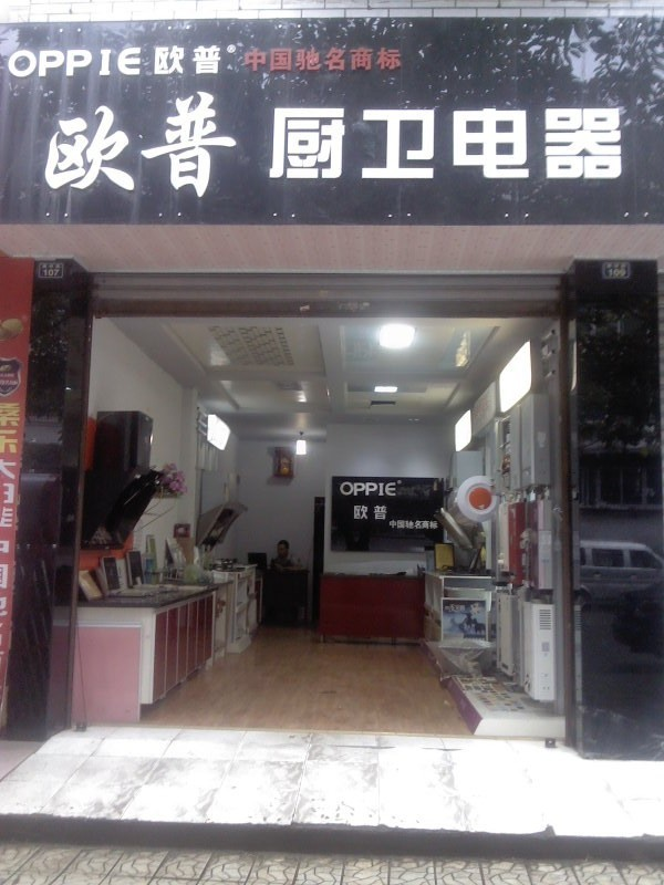 欧普专卖店效果图; 厨卫电器太太乐厨卫电器 厨卫电器图片1; 欧普电器