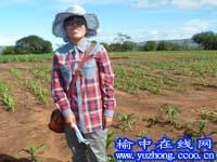 李小燕在肯尼亚