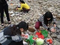 澳门太阳城网站在线论坛春游野炊活动开始了。