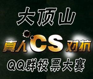 """巴彦网""""大顶山杯""""真人CS对抗QQ群投票大赛"""