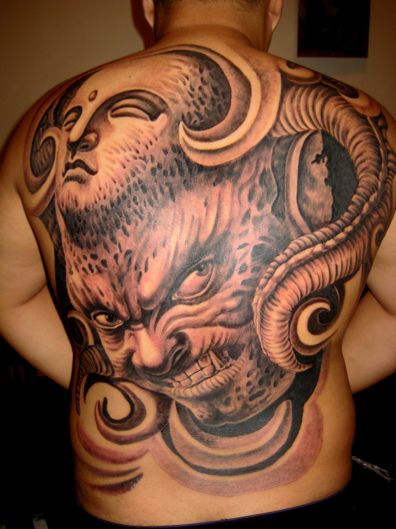 纹画饰界纹身作品展