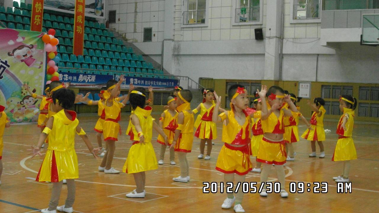 柳河童星幼儿园2012庆六一文艺演出