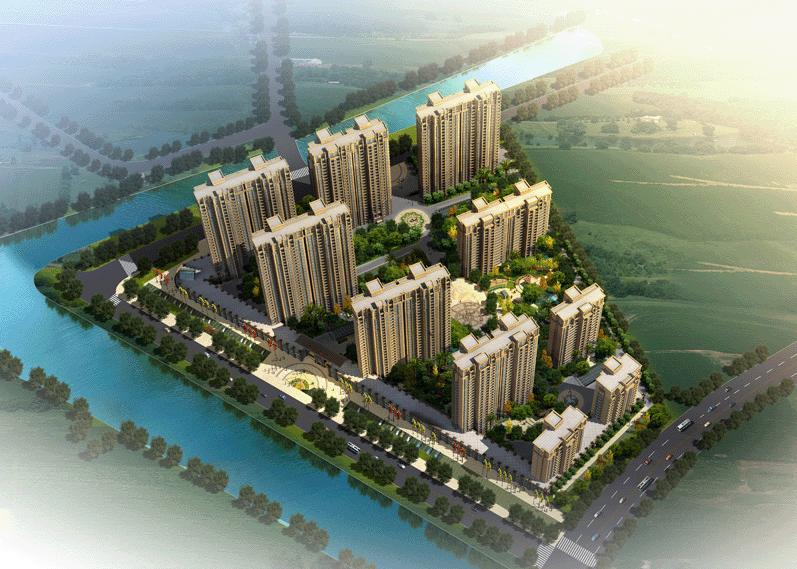 如东县城重大项目效果图规划图(更新海花新城)