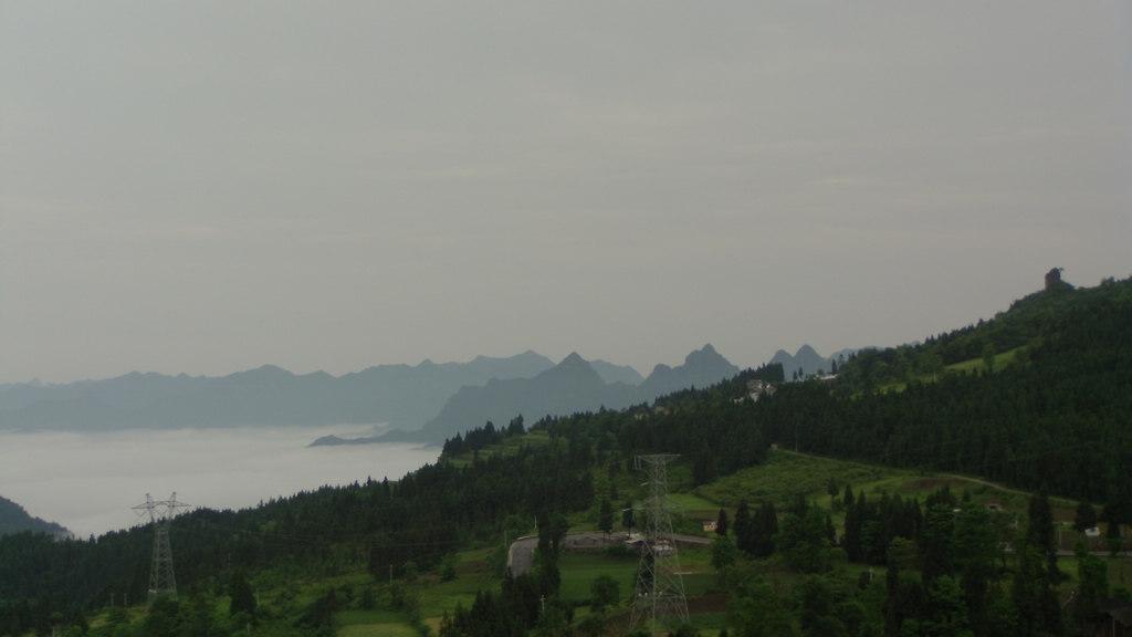潮州杉坪村的风景