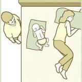 你们注意到了吗?婴儿在他们父母中间的可爱睡姿