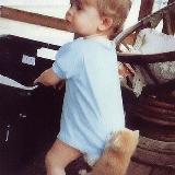 宝宝和宠物的精彩瞬间
