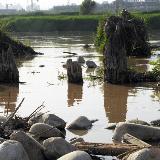 咸阳渭河古桥遗址