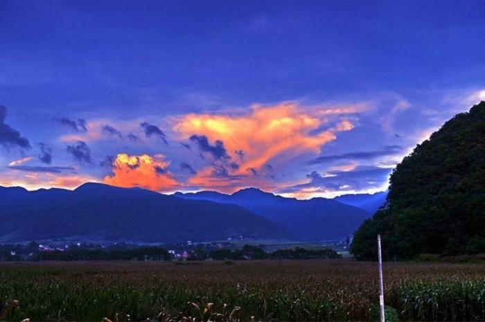 美丽的瑶都江华风景