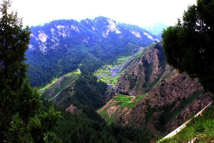 甘肃省民乐县海潮坝省级森林公园