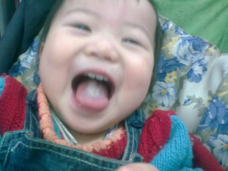 [分享育儿经] 宝宝的笑脸与其智商成正比图,妈妈们,你家宝宝笑了吗