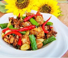 【当辣椒爱是小公鸡】就成了我们今天要学的菜!