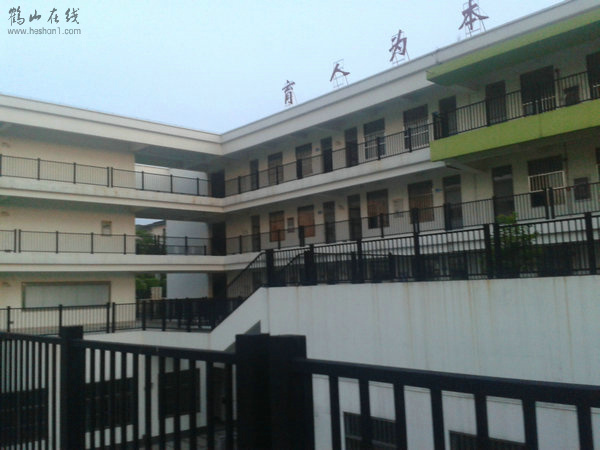 鹤山沙坪第六小学校园靓景