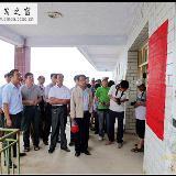 天水师院美术学院为王窑乡带去诗情画意
