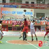 寻乌夏季2012篮球联赛-醇香酒业VS晨光
