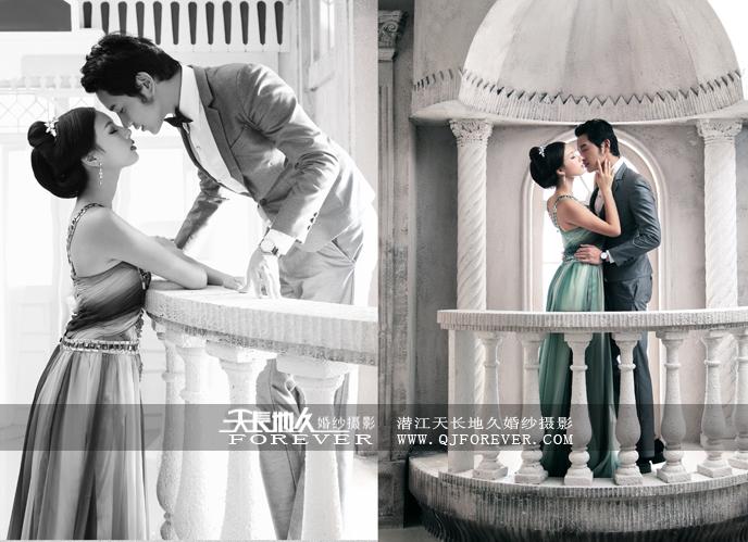 潜江天长地久婚纱摄影主题拍摄之——洛丽塔的传情
