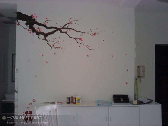 音乐室内手绘墙