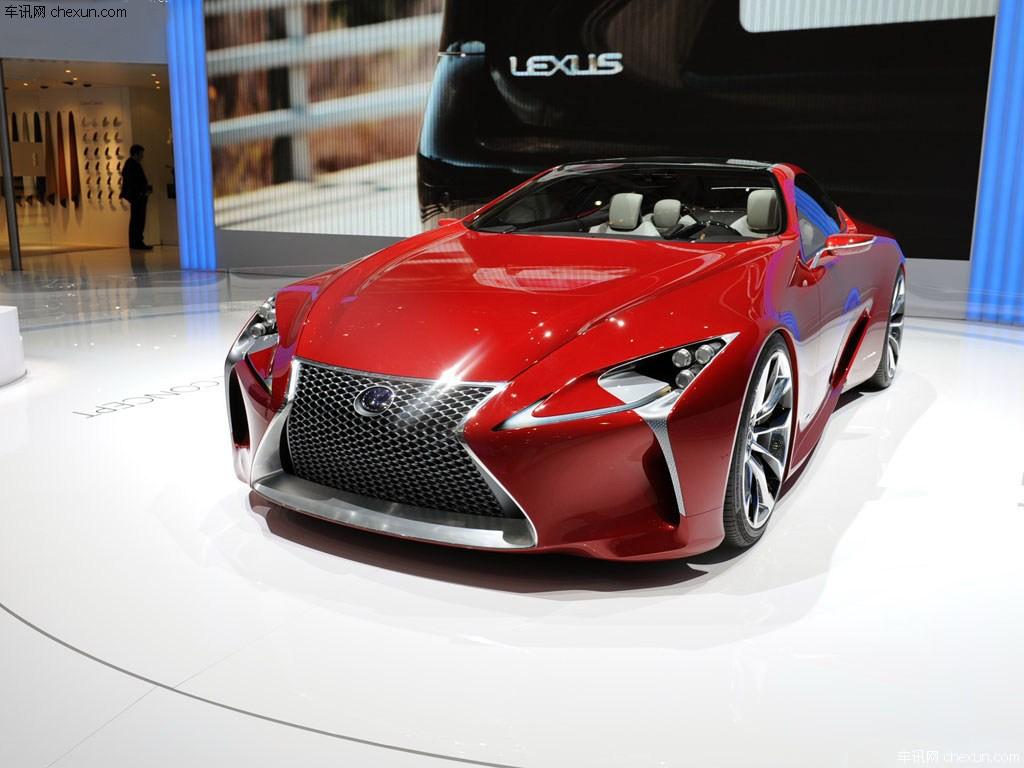 [转贴]雷克萨斯新车计划曝光 明年第三季度推CX