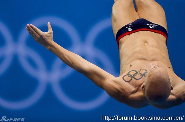 奥运赛场上的精美性感纹身!(图)