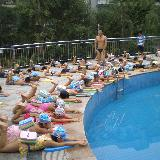 [原��]�|湖游泳池和北湖游泳池暑期游泳培�剪影