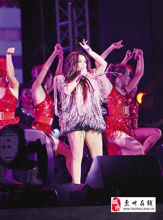 张惠妹惠州演唱会