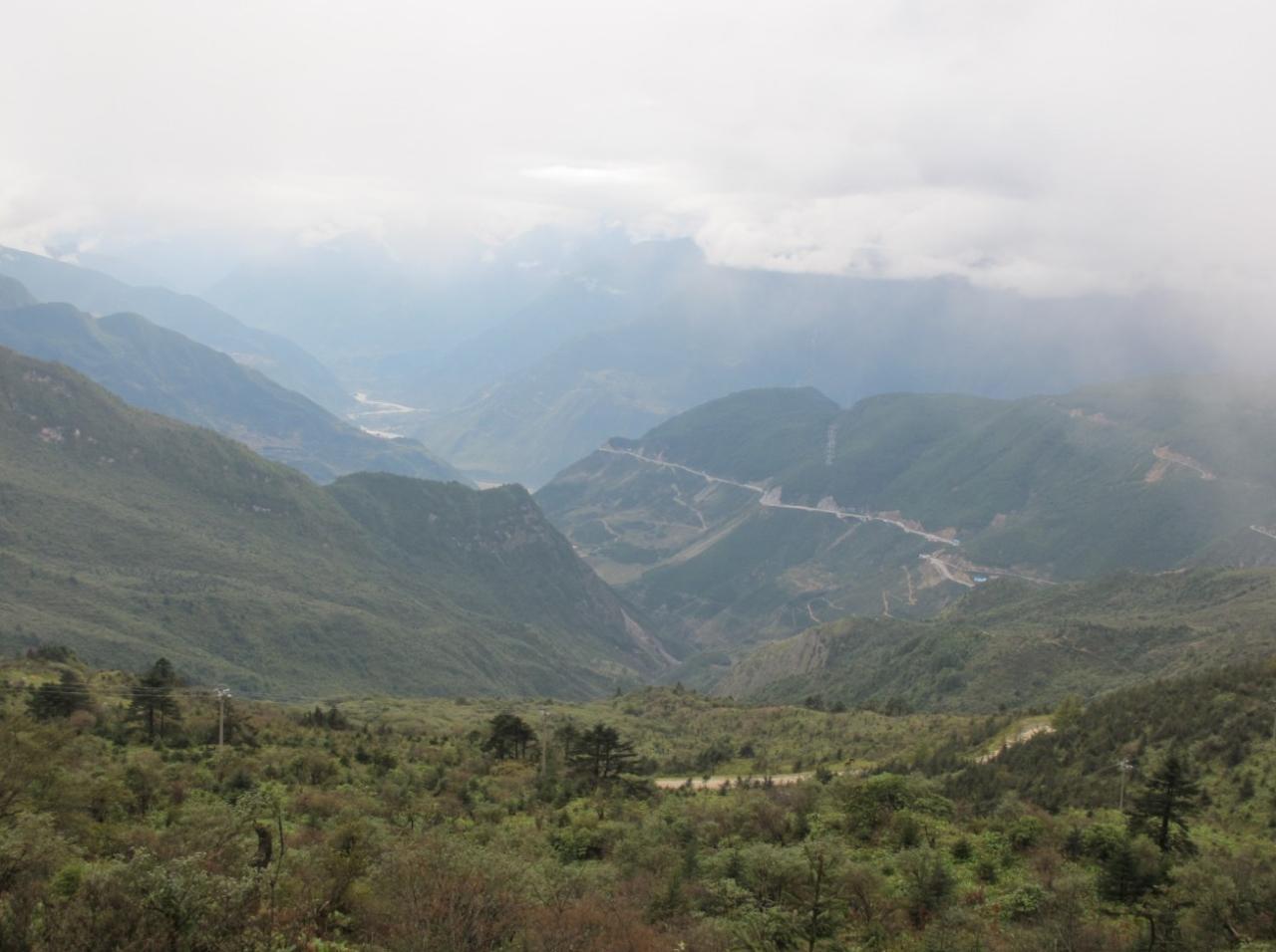 挑战山地系列之二郎山老路