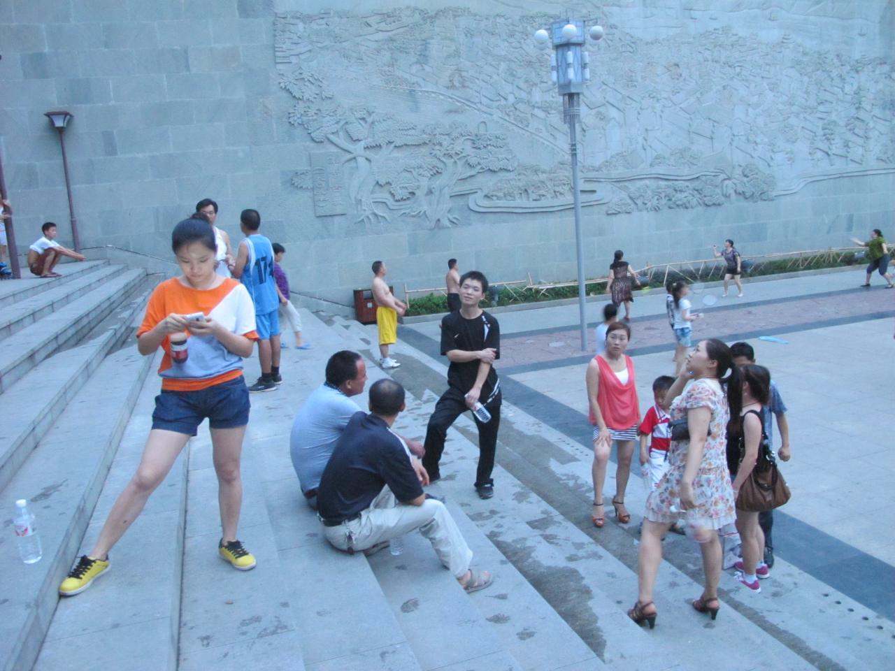 8月19号网友线下活动:登凤凰山