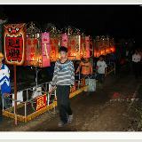 琼海乡村闹元宵,游灯舞狮和祭祀