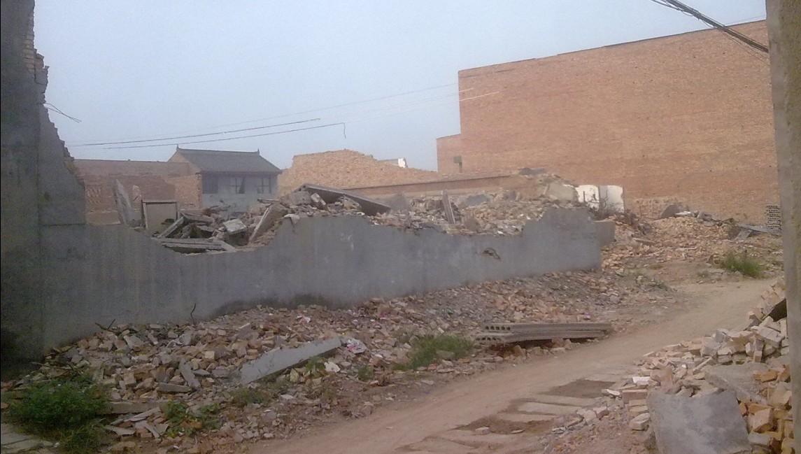 西安市阎良区振兴街道办聚宝村被拆迁办强行拆迁