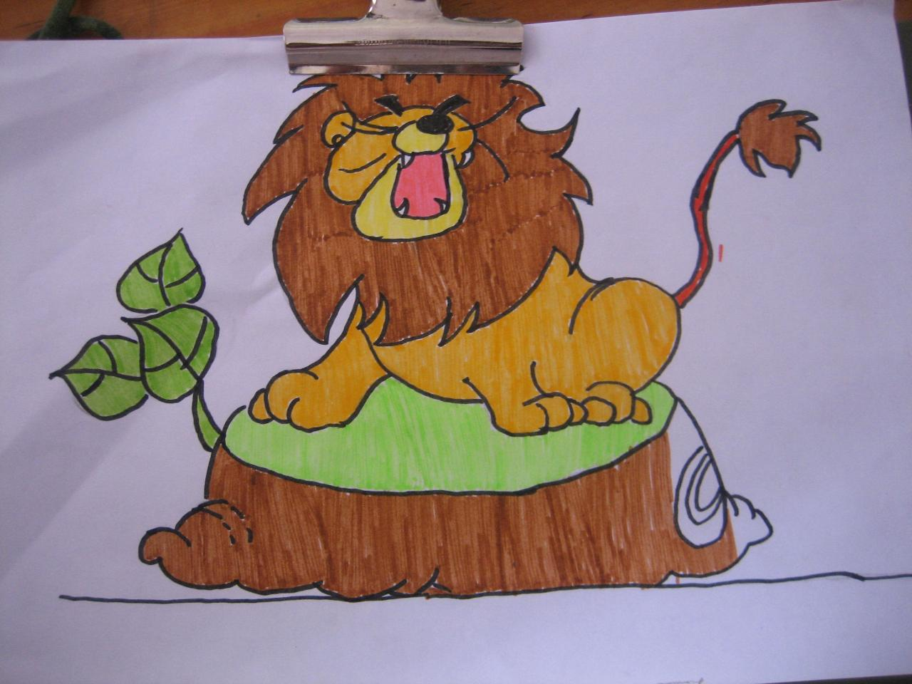 幼儿园愚蠢的狮子教案 幼儿园认识老虎,狮子,猎豹三只的动物教案