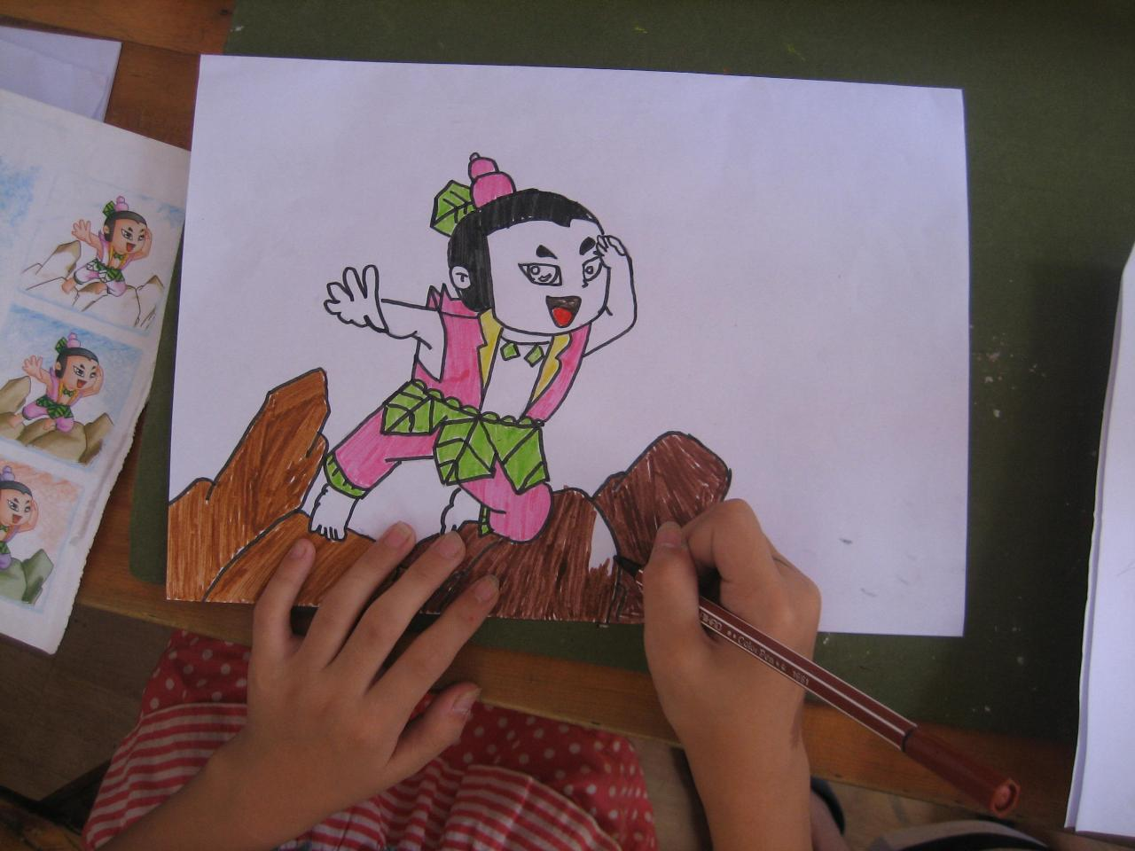 幼儿园考编面试绘画展示