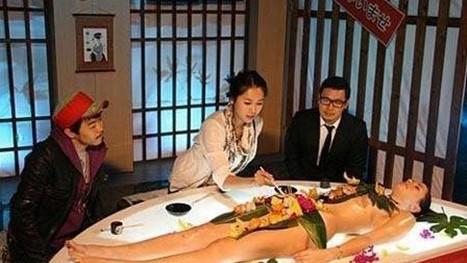 日本的特色名食――女体盛