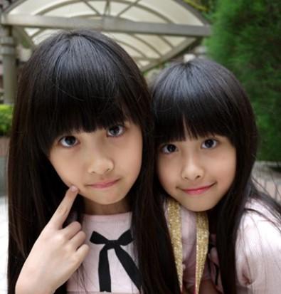 台湾人气双胞胎,非常可爱的小可爱