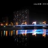临县城市夜景