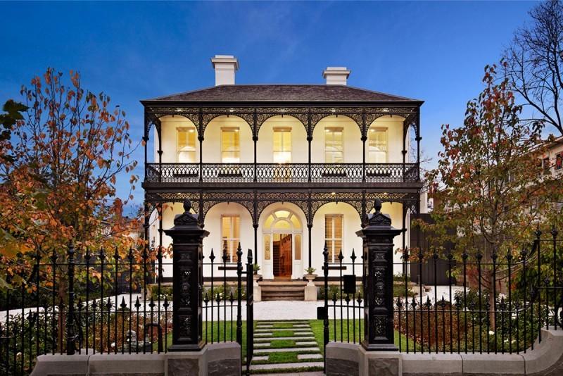 这里聚集了巴洛克,维多利亚等多种欧洲建筑风格元素.图片